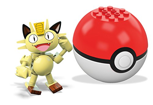 Mega Construx Pokemon Meowth Building Set