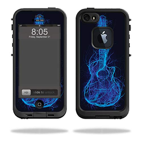MightySkins Skin Compatible with Lifeproof iPhone 5/5s/SE Case fre - Electric Guitar | Protective, Durable, and Unique Vinyl wrap Cover | Easy to Apply, Remove, and Change Styles | Made in The USA