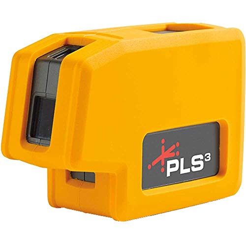 New PLS3 3-point Red Beam Laser Level PLS-60523N by Pacific Laser ()