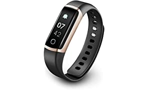 TicBand, Fitness Tracker, 24/7 Activity Tracking with Heart Rate Monitor, Automatic Sleep Tracking