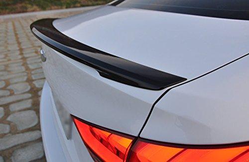 (Automotiveapple DALLIZA Rear Trunk Lip Spoiler for 2015 2018 Hyundai Genesis Sedan, G80 (YB6 - Onix Black) )