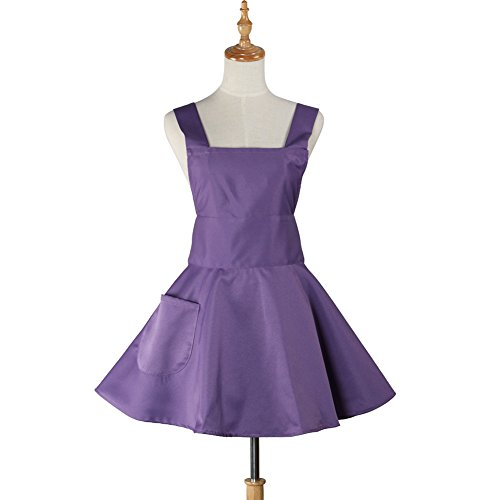 purple cooking aprons for women - 8