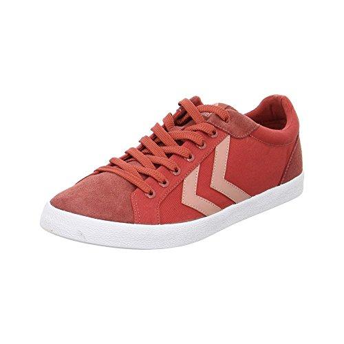 Hummel Deuce Court Summer - 644034124TANDORISPICE - Color Red - Size: 44.0 EUR by Hummel
