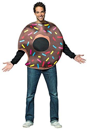 Rasta Imposta Chocolate Donut w/ Bite - Donut Costumes Halloween