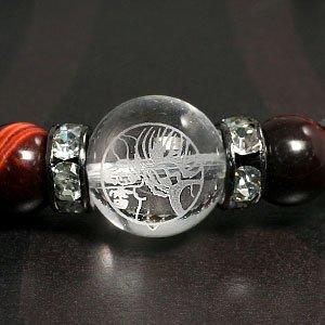 Japanese Good Fortune Bracelets: Thunder Storm God Carve [Misc.]