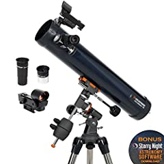 If you're in search of a high-quality, professionally designed telescope that is easy to set up and use, the AstroMaster Series 76EQ telescope by Celestron is a superior choice. The AstroMaster 76EQ Newtonian Telescope for adults and ...