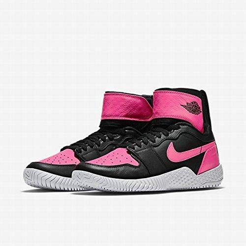 Nike Flare LG QS AJ1 Jordan Serena Williams Size 7 Black Hyper Pink 878458 006 by NIKE