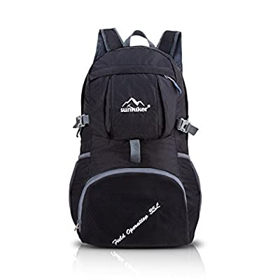 Ultra Lightweight Packable Backpack Hiking Daypack, Handy Foldable Camping Outdoor Backpack for Travel Hiking Climbing Running Cycling Camping Outdoor Sports