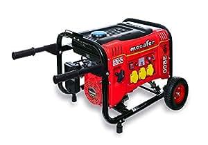 Mecafer MF3800 - 450138 Generador de ruedas 3500 W