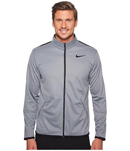 NIKE Men's Jacket Epic Knit (Large, Cool Grey/Black)