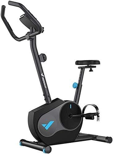 ZT-TTHG ホームカーディオワークアウトバイクTraining-ブラック用LCDモニター付きの屋内サイクリング自転車ベルトドライブ文房具自転車エクササイズバイク