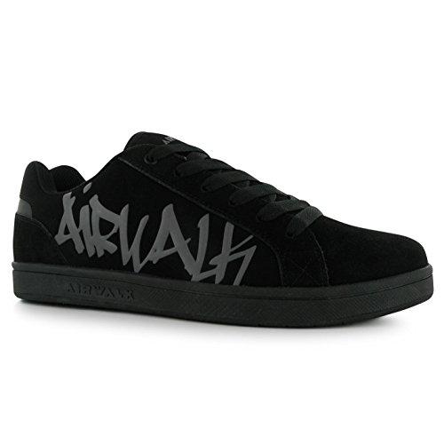 Turnschuhe Logo Schwarz Sneaker Schuhe Graffiti Neptune Airwalk Skate Jungen Kinder zw8nqYf