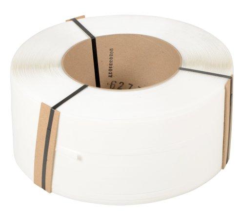 Vestil-ST-12-9X8-WH-White-Strapping-Polypropylene-9900-Length-12-Width