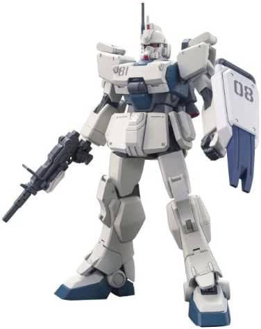 Bandai Hobby #155 HGUC Gundam Ez8 Model Kit, 1/144 Scale