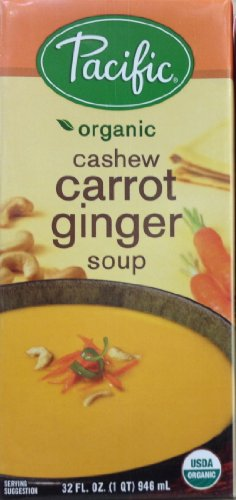 Pacific Foods Soup Rte Cashew Carrot Gn by Pacific Foods