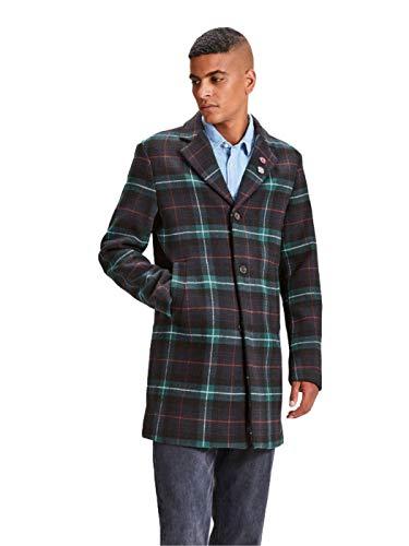 Multicolore Jorluke Wool Homme Jack Jones Eclipse checks Checks Manteau Coat amp; total w10E7tx