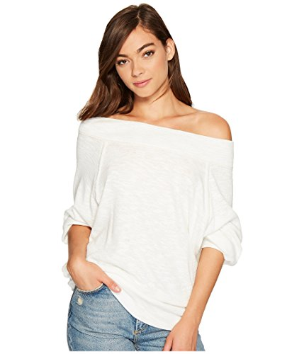 Free People Womens Palisades Thermal Ivory Small