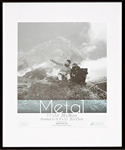 Timeless Frames Metal Photo Frame, 11 by 17-Inch, Black