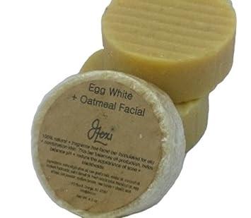 Amazon.com: J. Lexi huevo blanco + barra Facial con avena ...