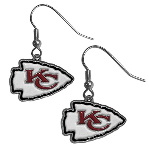 NFL Kansas City Chiefs Dangle Earrings