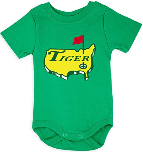 Green Tiger The Masters Logo Baby 1 Piece