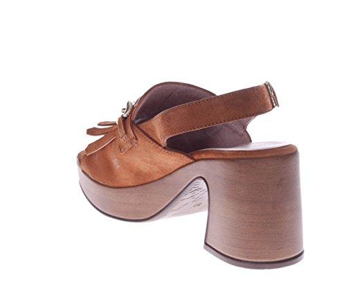 Donna Con Fasci Cuoio Wonders Sandalo Una Frangia 6xBwFgTf