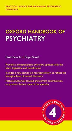 Oxford Handbook of Psychiatry (Oxford Medical Handbooks) - http://medicalbooks.filipinodoctors.org