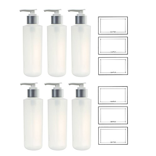6 oz cosmetic containers - 6