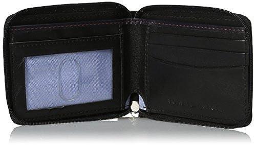 05. Tommy Hilfiger Men's Oxford Ziparound Wallet