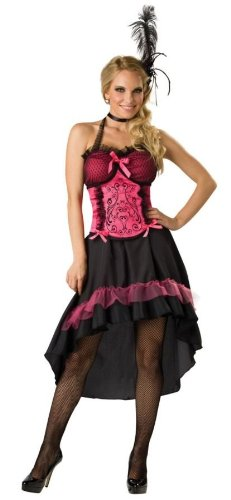 Saloon Girl Adult Costume - Small -