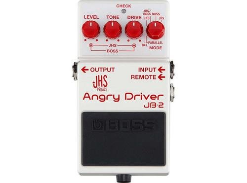 Boss JB-2 Angry Driver Overdrive Guitar Effects Pedal