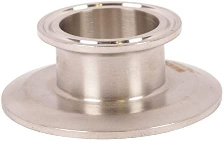 Concentric ReducerTri Clamp 2.5 2 1//2 Sanitary SS304 inch x 2