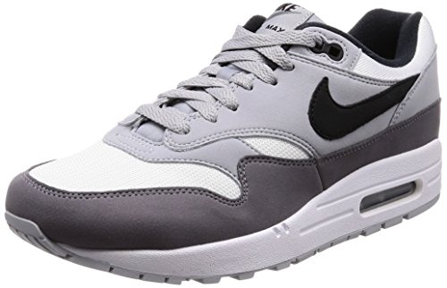 Black wolf Air Max Shoes white 101 Fitness s 1 Multicoloured Gre Nike Men 6qRzvv
