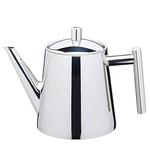 - Kitchencraft Le'xpress 4-cup Stainless Steel Teapot With Infuser, 800ml (28 Fl