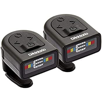 d addario ns micro clip on tuner 2 pack highly precise easy to read clip on. Black Bedroom Furniture Sets. Home Design Ideas