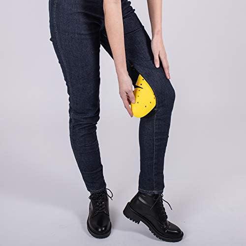 Knox Scarlett Skinny Jeans Femme, Bleu, L