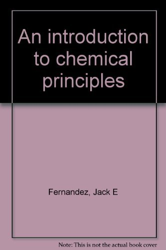 An introduction to chemical principles