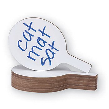 Flipside Products Oval Dry Erase Answer Paddle 7