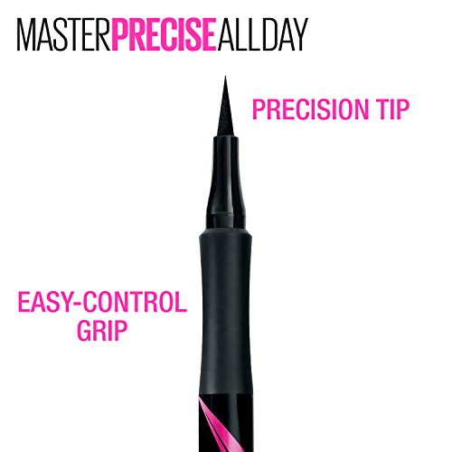 Large Product Image of Maybelline Eyestudio Master Precise All Day Liquid Eyeliner Makeup, Black, 0.034 fl. oz.