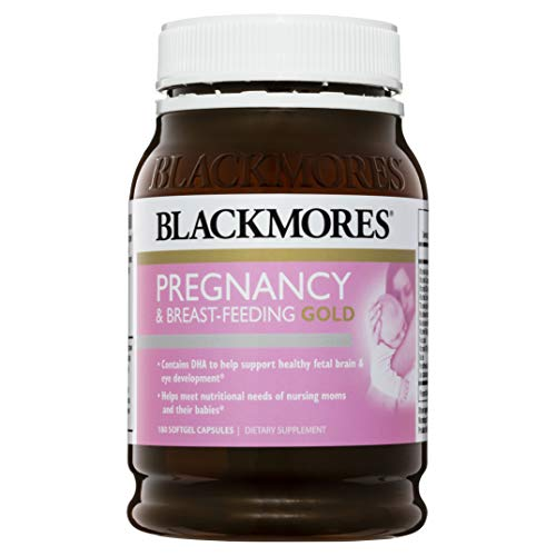 Blackmores Pregnancy & Breast-Feeding GOLD Formula 180 caps