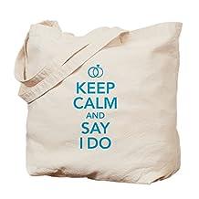 CafePress - Bridal - Natural Canvas Tote Bag, Cloth Shopping Bag