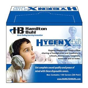 HAMILTON ELECTRONICS VCOM ON EAR COVERS FOR HEADSETS 3-3/4IN