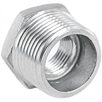 KI - Racor reductor, reducción de acero inoxidable
