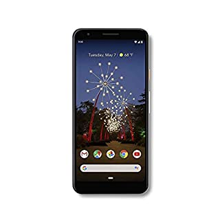 Google - Pixel 3a Unlocked Android G020g with 64GB Memory Cell Phone Unlimited Cloud Storage W/ 69.99 Hesvap 7 in 1 Accessories Bundle (Black)