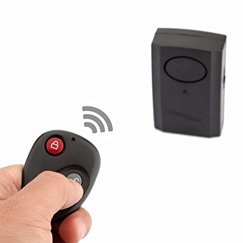 Mengshen Wireless Remote Control Vibration Alarm Home Security Door Window Car Motorcycle Anti-Theft Burglar Security Alarm Safe System Detector MS-Z02