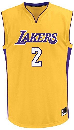 Lonzo Ball Los Angeles Lakers #2 Youth Boys' Home Jersey, Gold – Sports Center Store