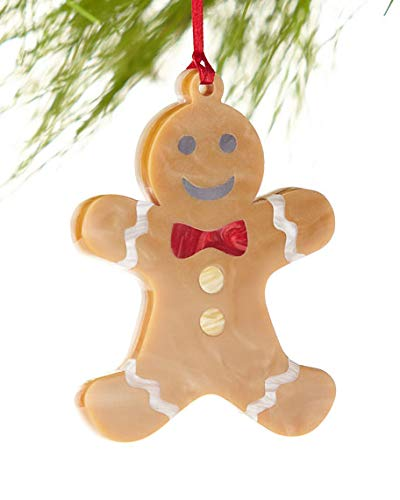 Edie Parker Gingerbread Man Christmas Ornament, Limited Edition