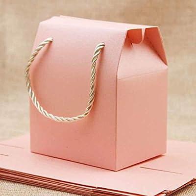 Amazon.com: Kraft Paper Bags: Feiluan 5pcs Ivory Paper Favor ...