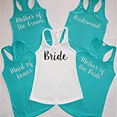 60fe3ab3731768 Amazon.com  I GOT ONE and SIP SIP HOORAY Bachelorette Party tank ...