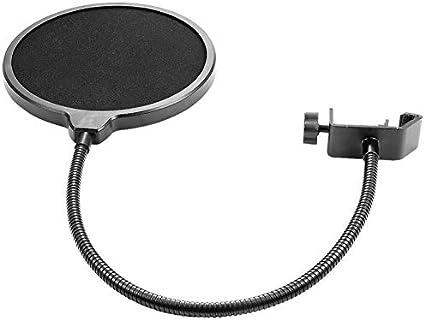 Schwarz 1-teilige Ausblassicherung Pop-Filter fr Yeti-Mikrofon ...